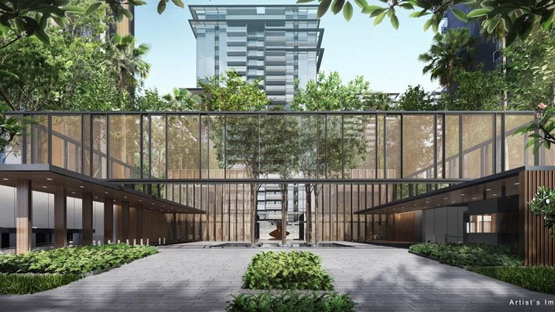New Condo Launch Jadescape By Qingjian in Bishan Jadescape Entrance (DS)