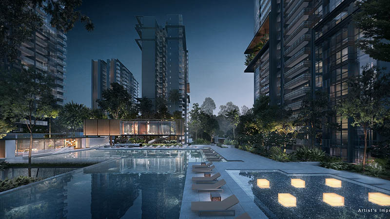 New Condo Launch in Singapore Bishan Jadescape Pool (DS)
