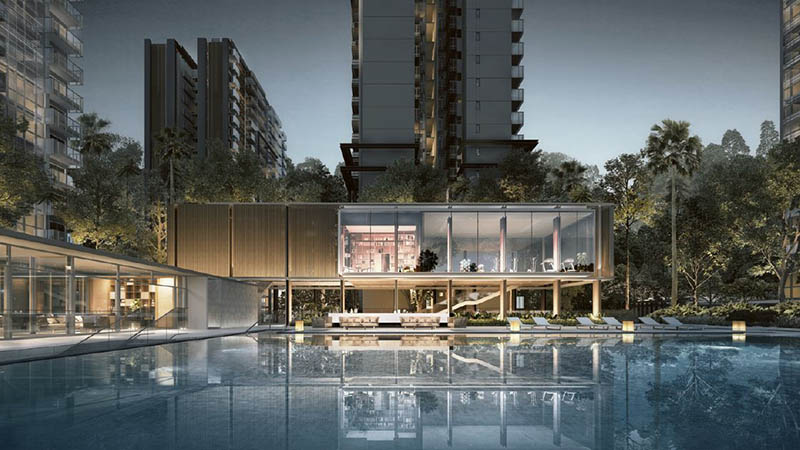 New Launch Condo in Bishan Singapore Jadescape Pool (DS)