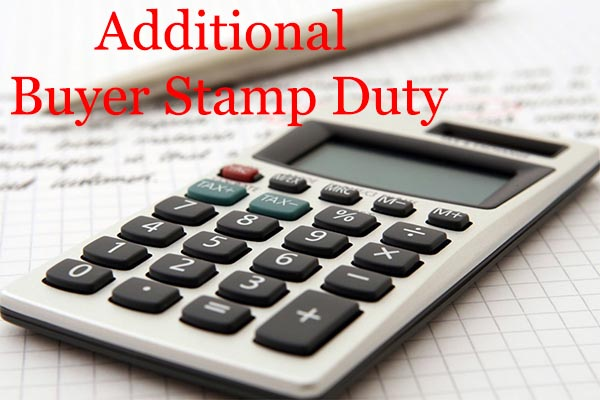Additional Buyer Stamp Duty for Singapore Residential Property Purchase