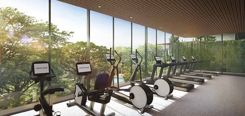 Avenue South Residence New Launch Condo Gym