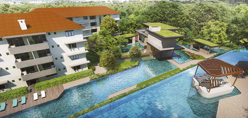 Avenue South Residence New Launch Condo Swimming Pool