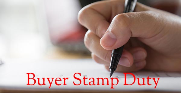 Buyer Stamp Duty on Singapore Property Purchase