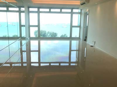 Marble Polish in Condominium Costa Del Sol Sea View At Bayshore Road