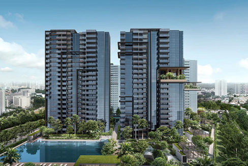 New Launch Condo Jadescape By Qingjian in Bishan Facade Feature Photo