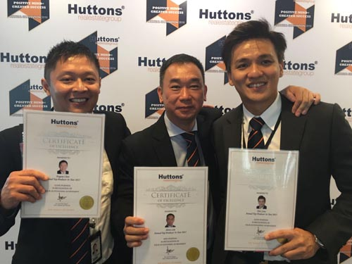 Singapore Award Wining Property Agent Career with award winning teammate