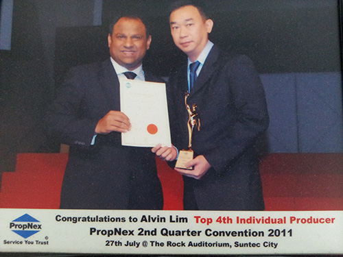 Singapore Award Wining Top Real Estate Agent