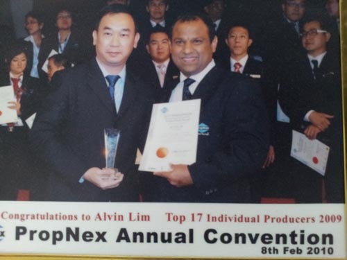 Singapore Award Wining Top Recommended Property Agent for Professional Real Estate Service