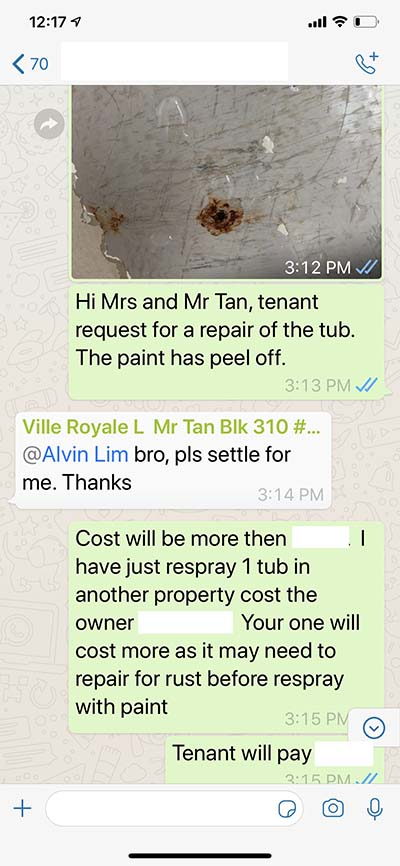 Singapore Condo Rental Reapir By Top Property Agent Alvin Lim Very Reliable