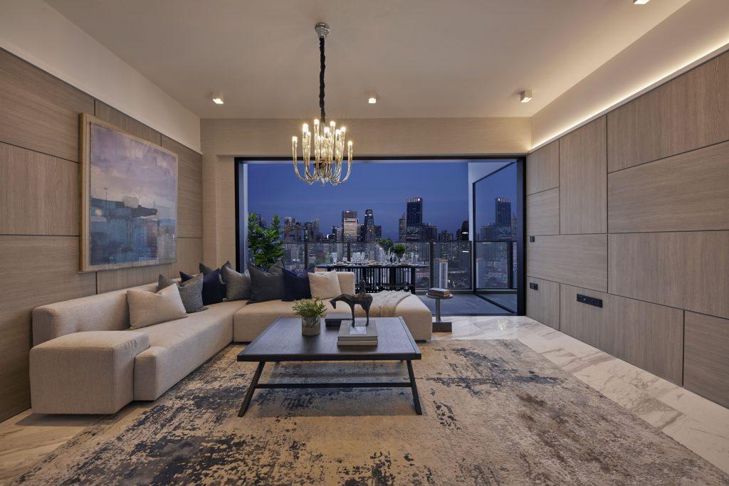 the landmark Living room