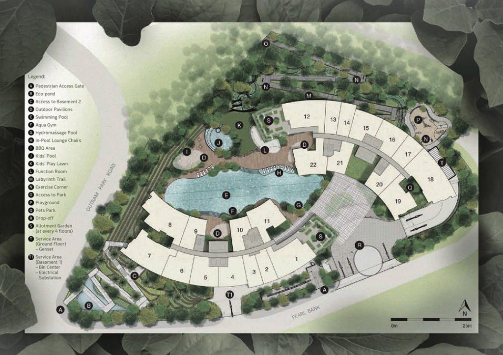 One Pearl Bank Condo Site Plan