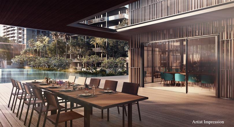 Parc Esta Poolside Dining Verandah