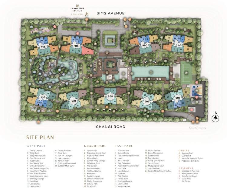 Parc Esta Site Plan