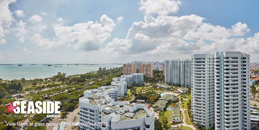 Seaside Residences   3 Plus Study