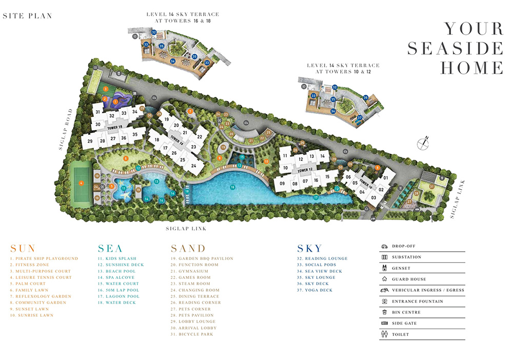 Siglap New Condo Site Plan 3