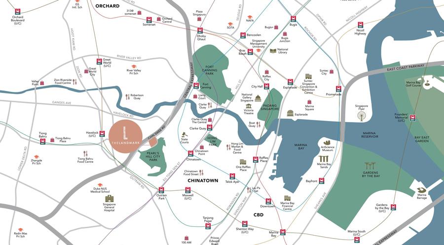 The-Landmark-locationmap