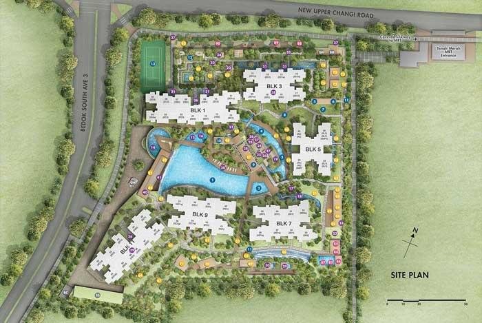 Grandeur-Park-Siteplan