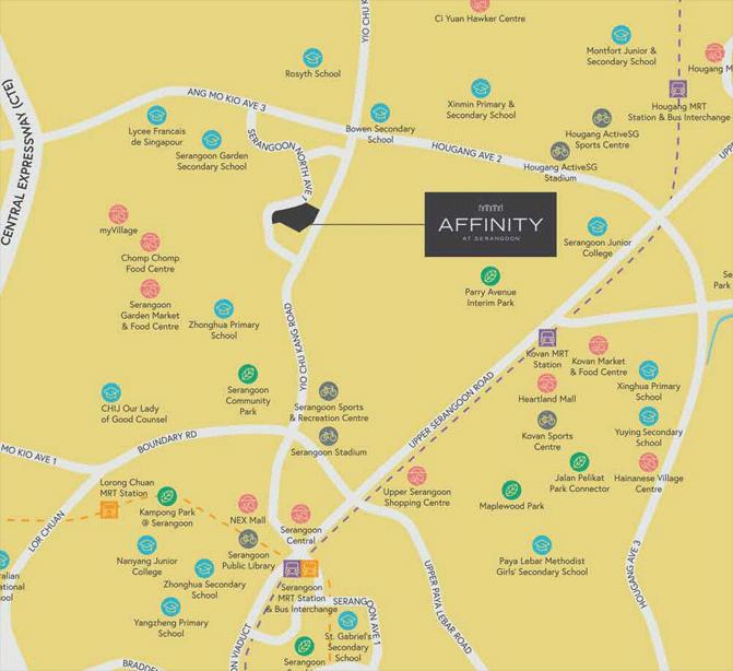 affinity-at-serangoon-location-map