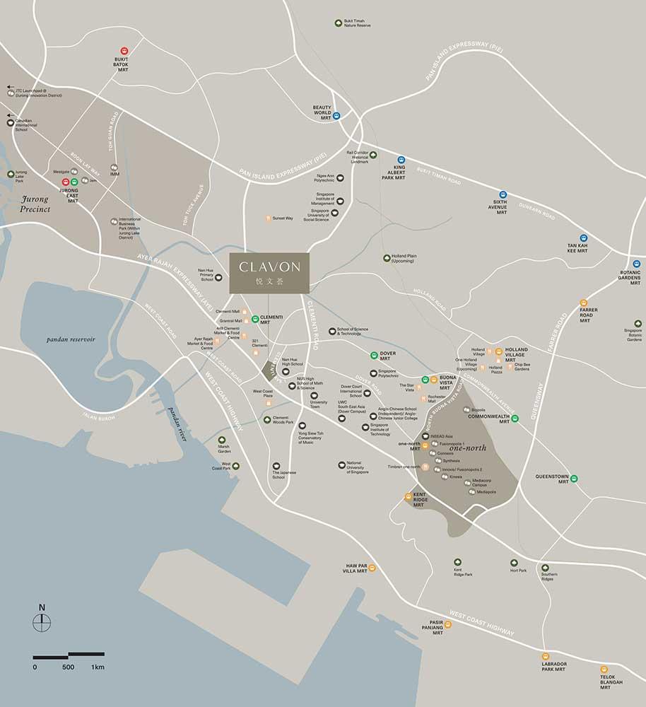 clavon-map