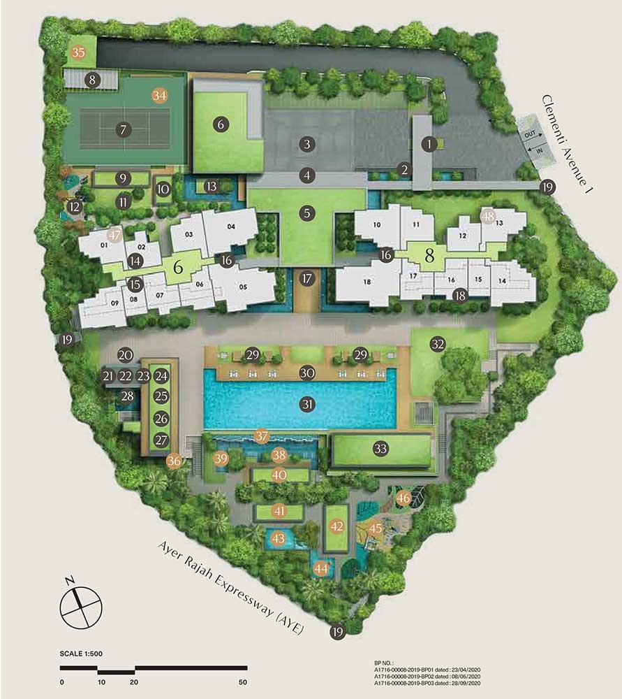 clavon-site-plan
