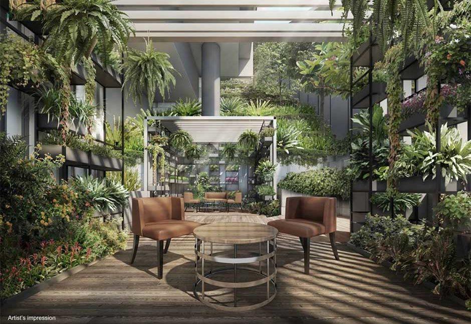 Haus-on-Handy-Condo-Garden