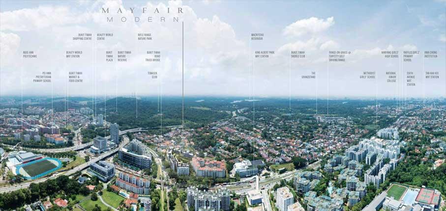 Mayfair-Modern-Condo-Location-Nearby-Amenities