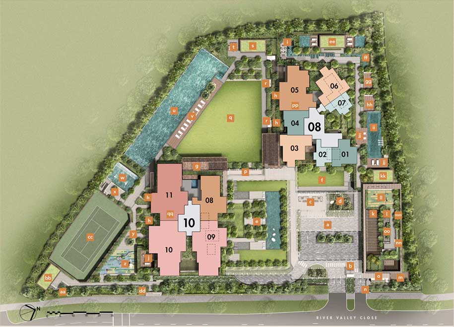 The-Avenir-Site-Plan
