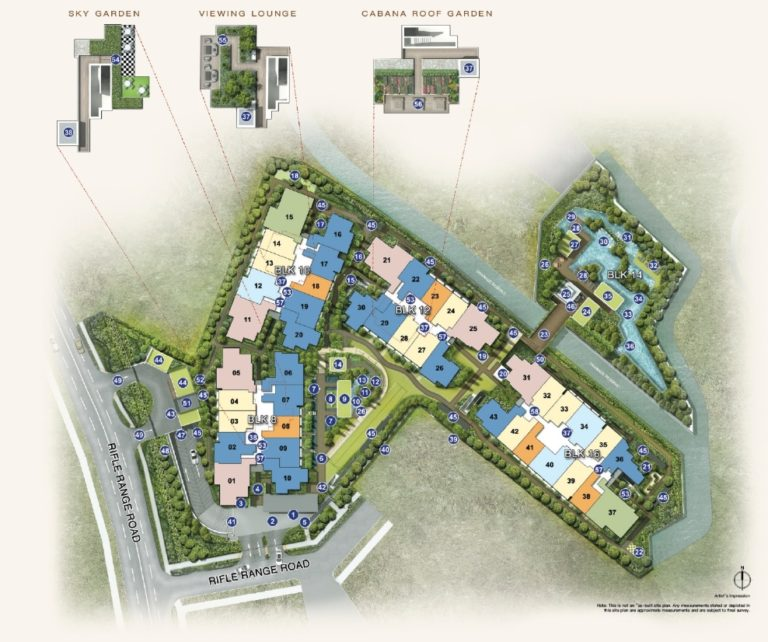 mayfair gardens site-plan