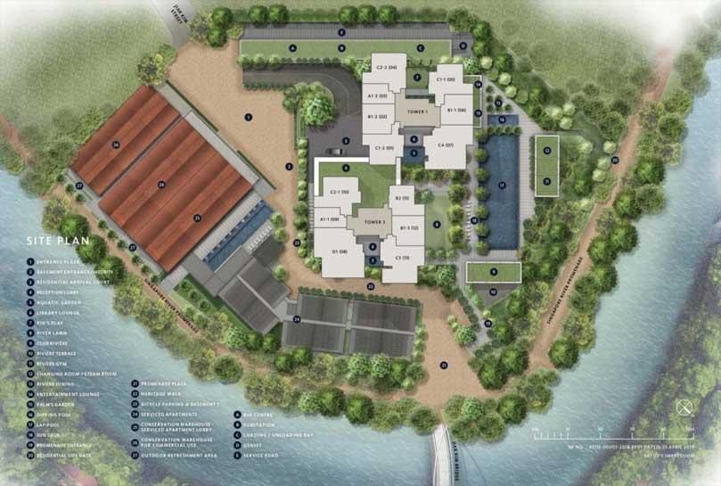riviere-condo-site-plan