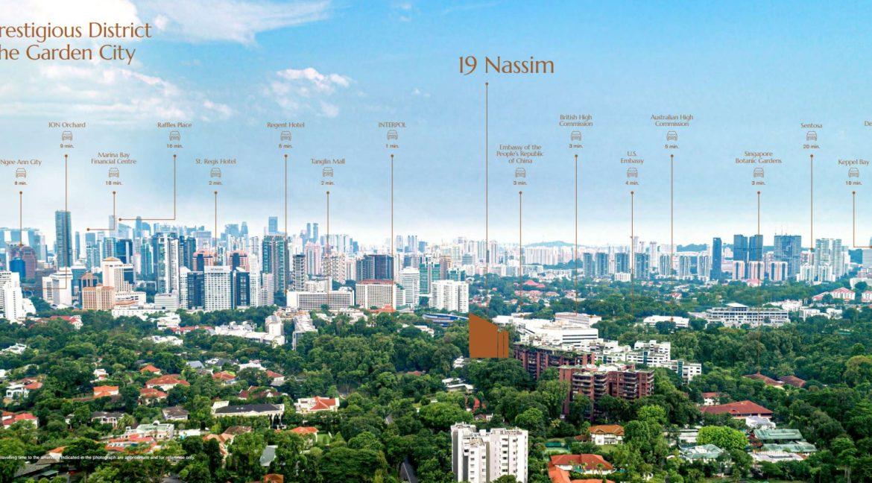 19 Nassim location