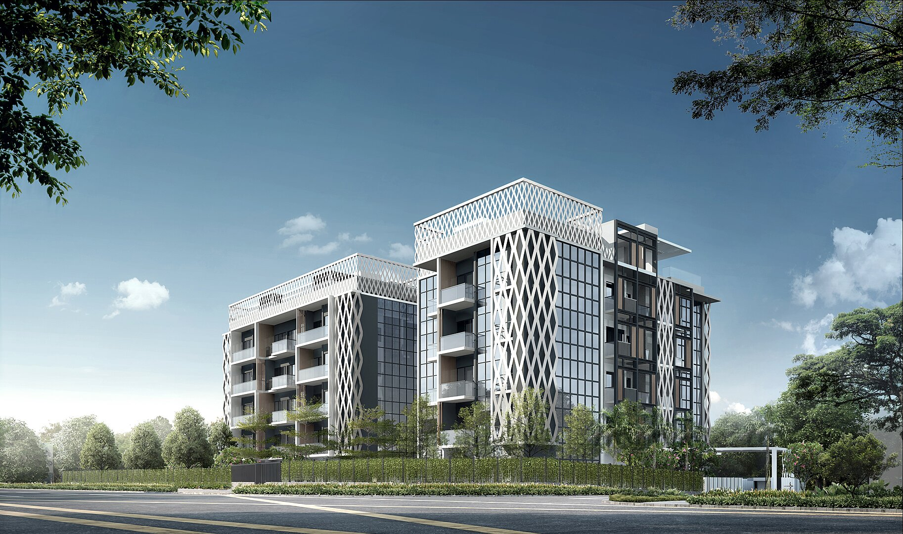 Lattice One Freehold Condo @ Seraya Crescent By Teeland