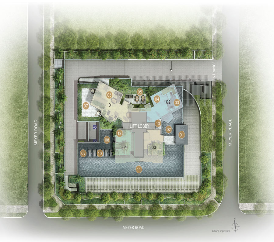 One Meyer site plan