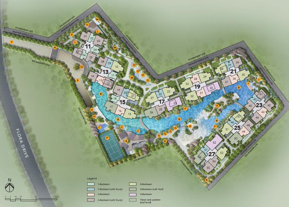 The Jovell site plan