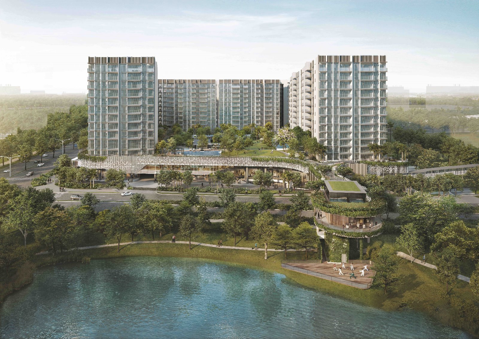 The Woodleigh Residences @ Upper Serangoon Road  By SPH and Kajima Development