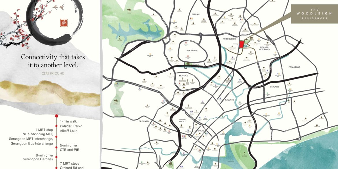 Woodleigh-location-map
