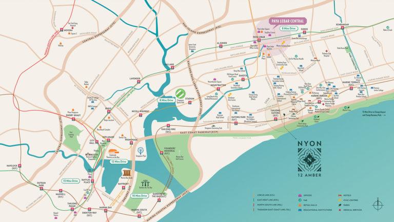 nyon location map