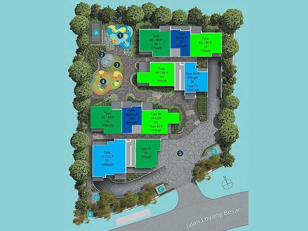 Casa-Al-Mare-Pasir-Ris-Site-Plan