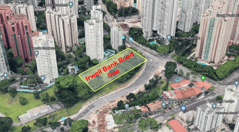 Irwell Bank Road condo location map