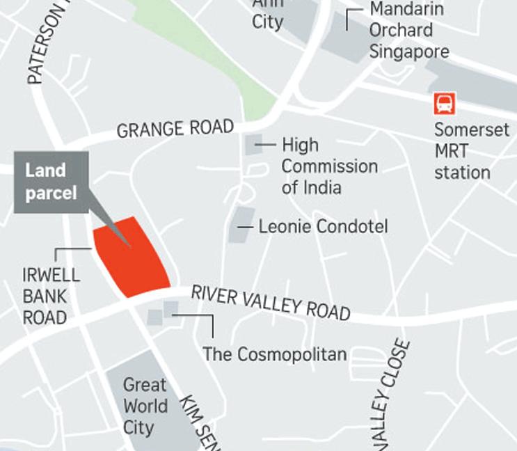 Irwell Bank Road land parcel