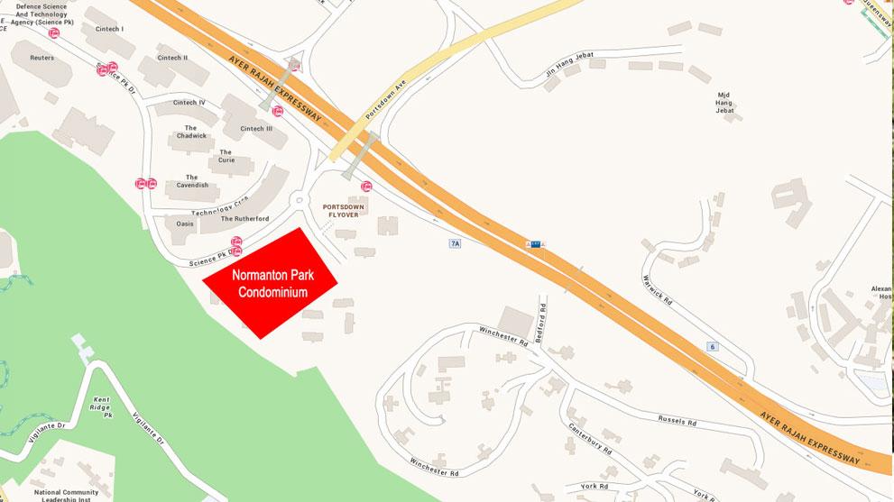 Normanton-Park-location-map
