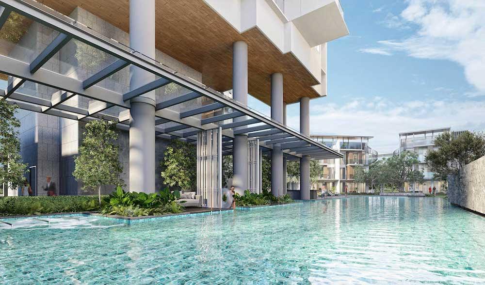 One-Holland-Village-residences-pool