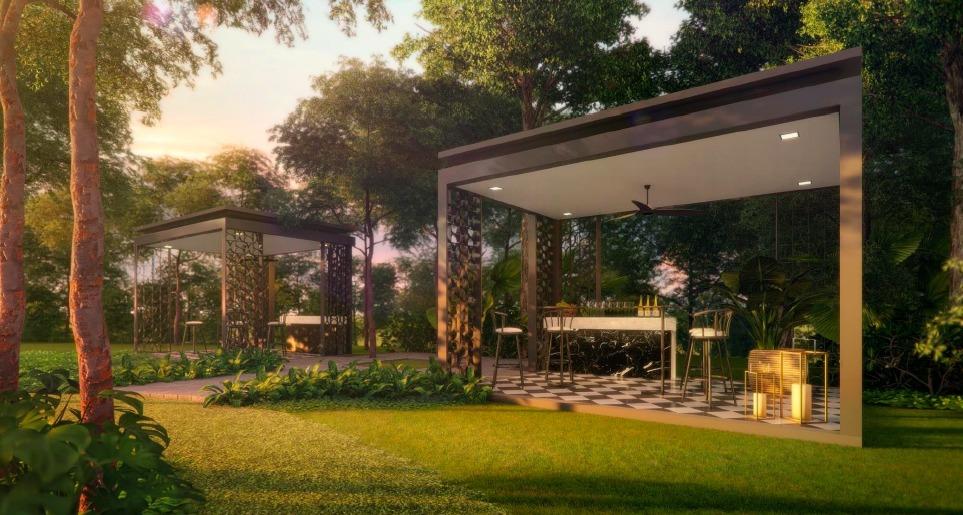 Park Colonial lawn