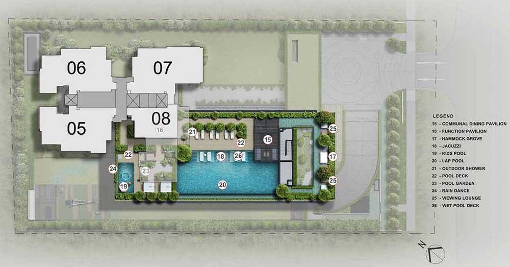 The-Sloane-Residences-Site-Plan-Level-4