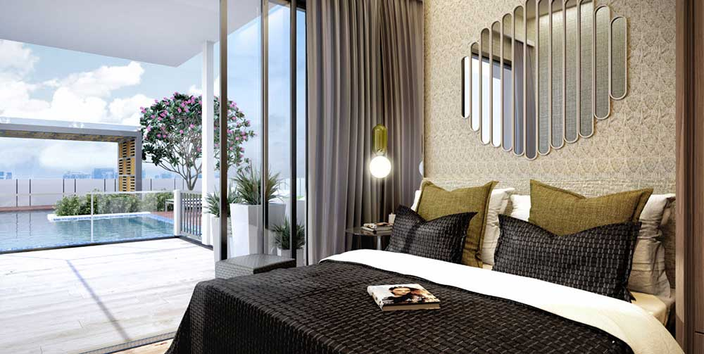 Uptown-@-Farrer-Bedroom-View-at-Low-Keng-Huat