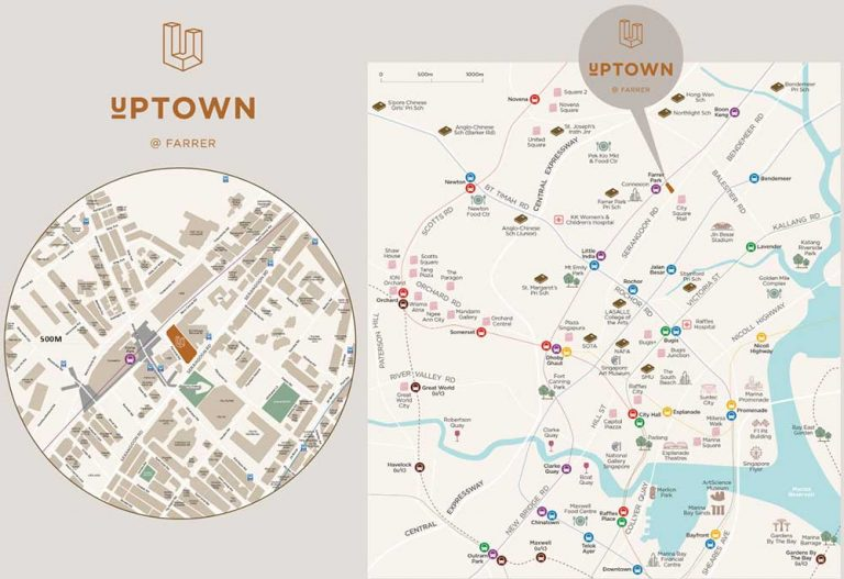 Uptown-at-Farrer-Location-Map