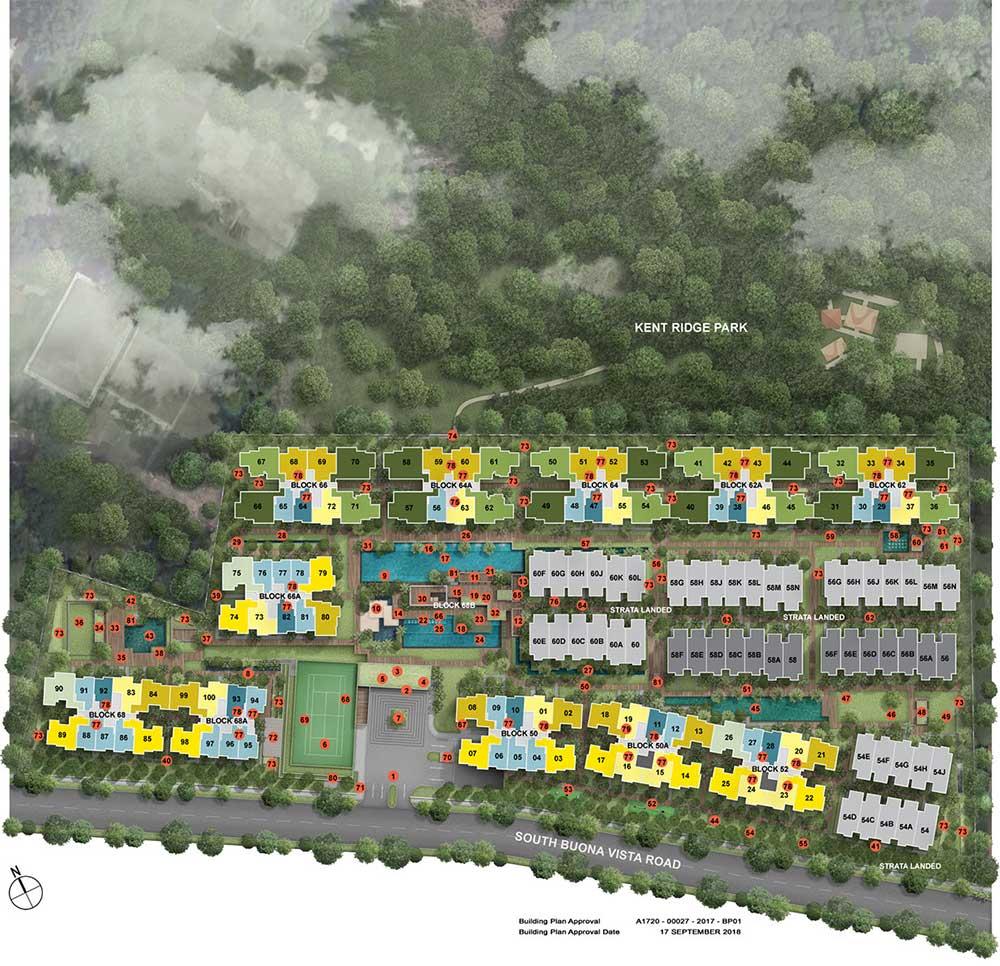 kent-ridge-hill-residences-site-plan