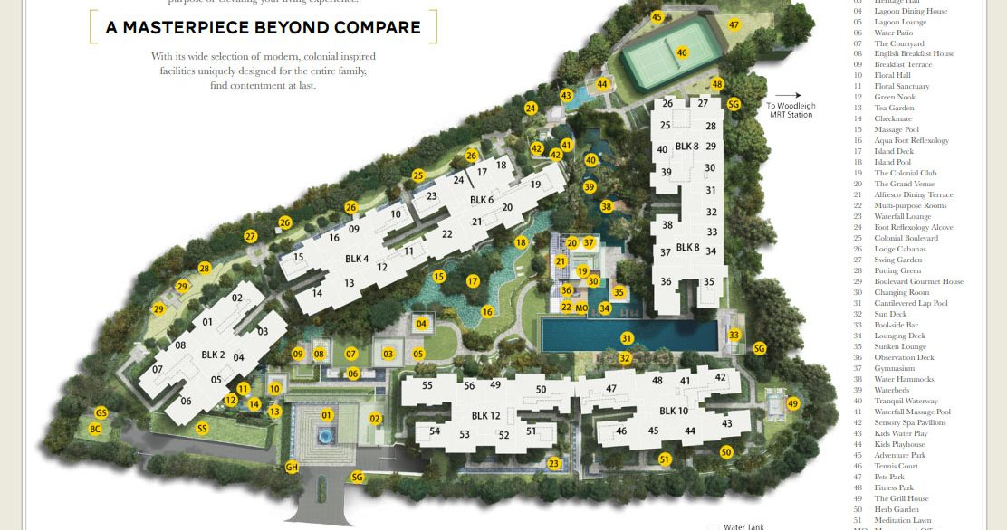 park-colonial-site-plan