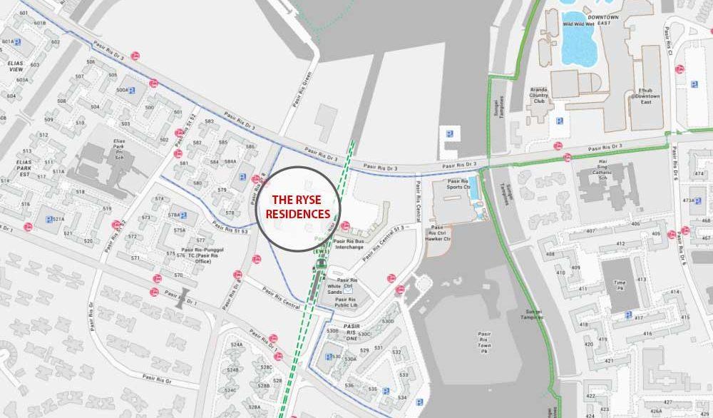 the-ryse-residences-map