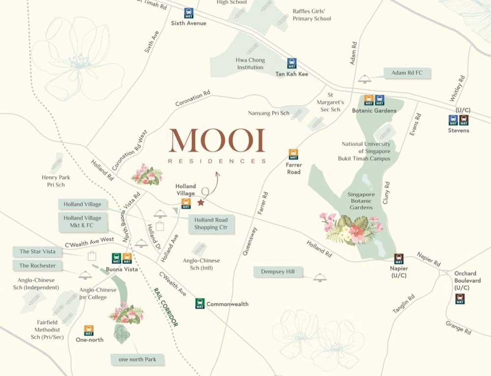 Mooi-Residences-map