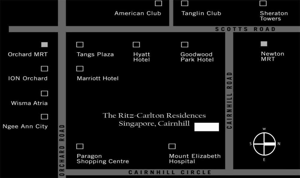 The-Ritz-Carlton-Residences-location